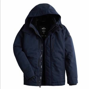 Hollister Faux Fur Lined Men's Jacket Size Small